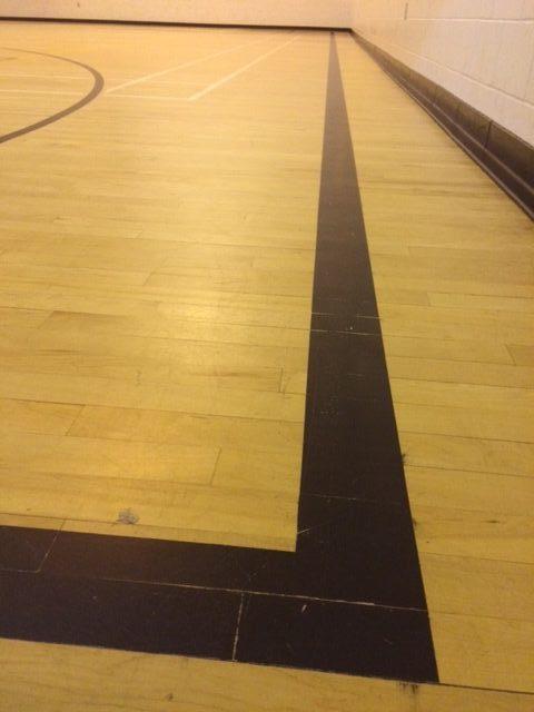 gymnasium line